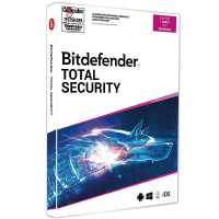 Bitdefender Total Security 2020 1 Gerät / 18 Monate