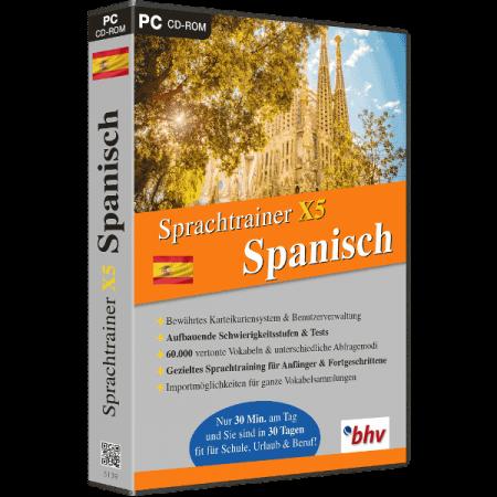 Sprachtrainer X5 Spanisch