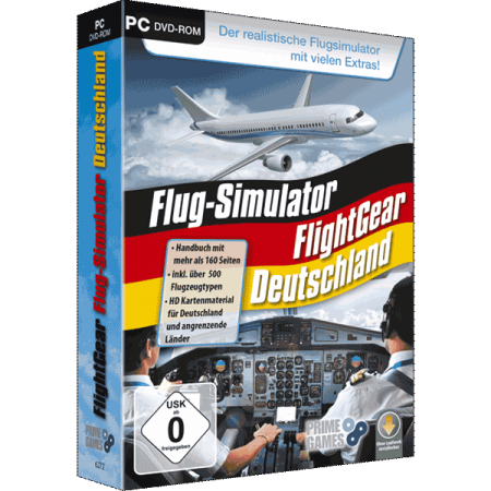 FlightGear Flug-Simulator Deutschland