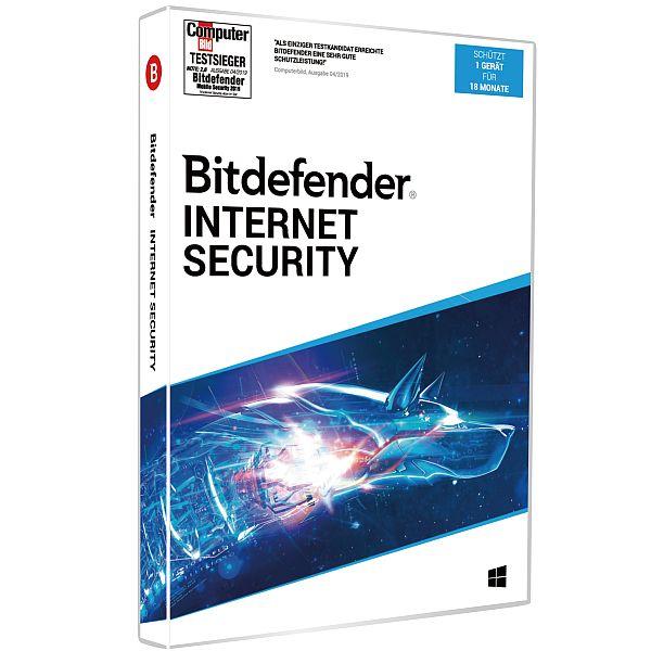 Bitdefender Internet Security 2020 | 1 Gerät | 18 Monate