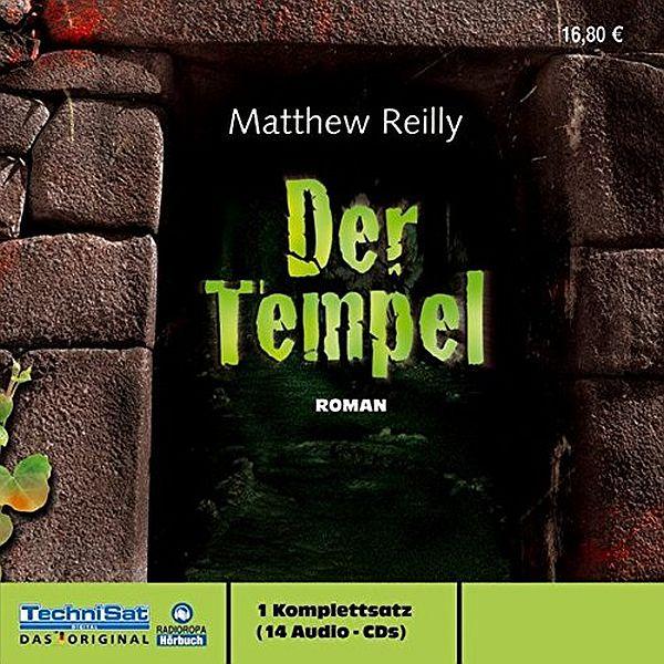 Der Tempel- Hörbuch - Matthew Reilly